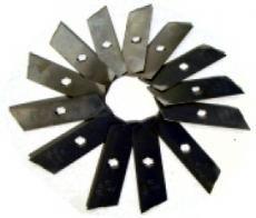 Ering Vertikutiermesser (12 Messer)