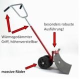 Fahrbarer Schneeschieber FS 66 Profi